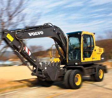沃尔沃建筑设备挖掘机EW145B Prime