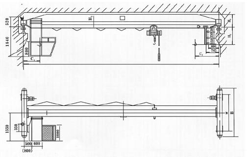 卫华集团 LDA型电动单梁起重机