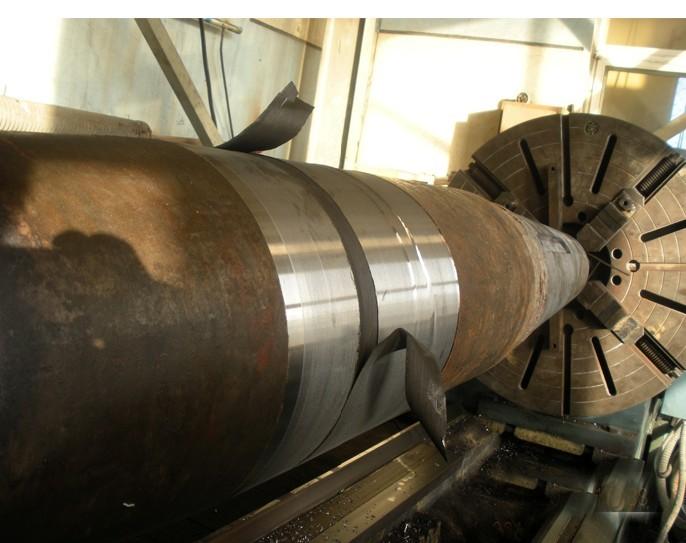 轴舵堆焊修复