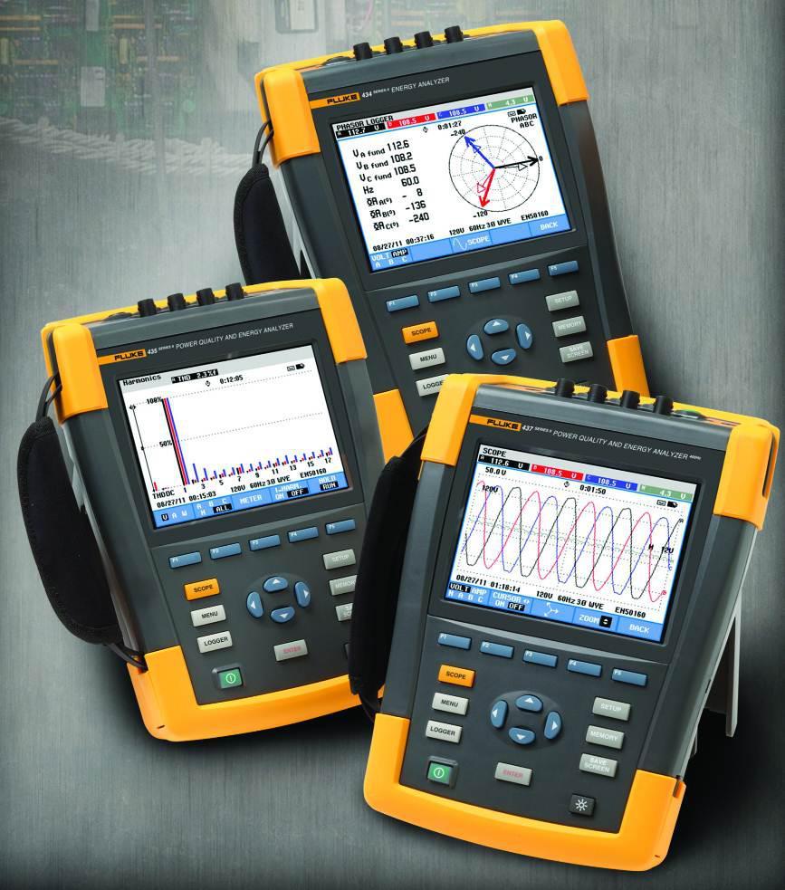 FLUKE 430II系列三相电能质量和电能量分析仪