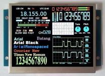 8寸 TTL串口彩色液晶显示屏