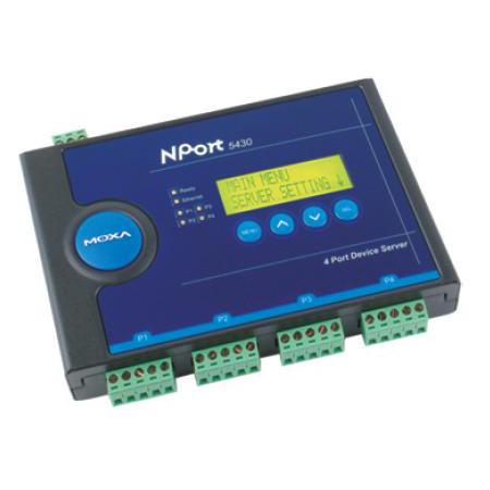 NPort 5430I串口服务器北京代理商
