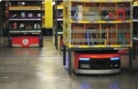 AGV仓储物流机器人
