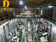 机器人车体焊接生产线